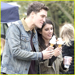 Shenae Grimes & Josh Beech: Ice Cream Treat in London