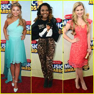 Stefanie Scott & China McClain: Radio Disney Music Awards 2013