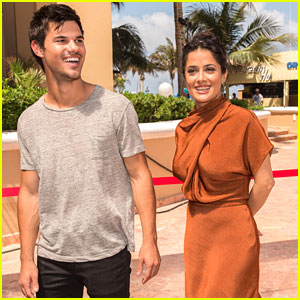 Taylor Lautner: 'Grown Ups 2' Photo Call in Cancun!