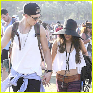 Vanessa Hudgens & Austin Butler: Last Day at Coachell