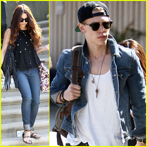 Vanessa Hudgens &#038; Austin Butler: Traveling Twosome!