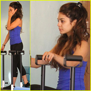 Vanessa Hudgens: Pilates Pretty