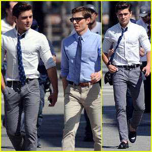 Zac Efron: 'Townies' Set With Dave Franco!