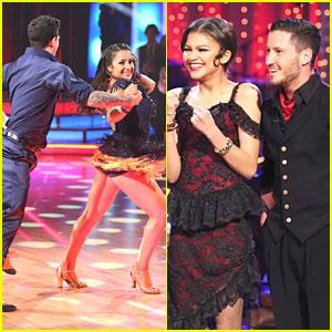 Zendaya & Aly Raisman: Safe Again on 'Dancing With The Stars'!