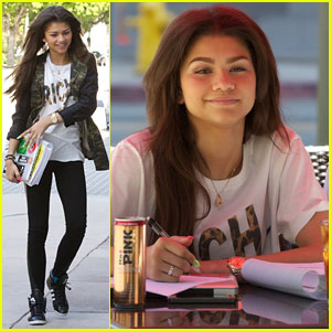 Zendaya: Math Tutor Time!