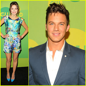 Aimee Teegarden &#038; Matt Lanter: 'Star-Crossed' at CW Upfronts 2013