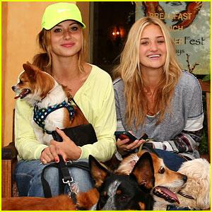 Aly & AJ Michalka: Doggie Day Out!