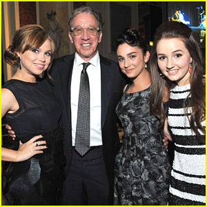 Kaitlyn Dever & Molly Ephraim: Midnight Mission Golden Heart Awards 2013