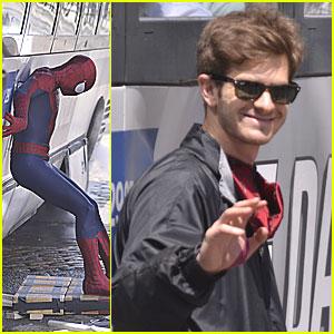 Andrew Garfield: Bus Rescue on 'Spider-Man' Set