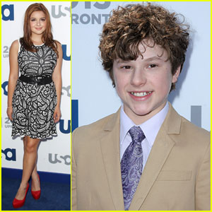 Ariel Winter & Nolan Gould: USA Upfronts 2013