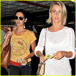 Ashley Greene & Julianne Hough Hit the Nail Salon