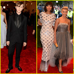 Ashley Madekwe & Dane DeHaan -- Met Ball 2013