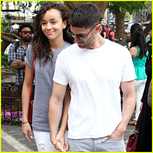 Ashley Madekwe & Iddo Goldberg: Holding Hands at The Grove
