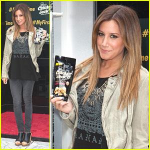 Ashley Tisdale Launches 'Cracker Jack'd'