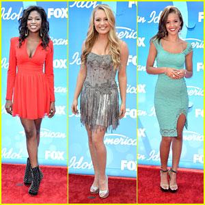 'American Idol' Finale: Top Ten Hit The Red Carpet!