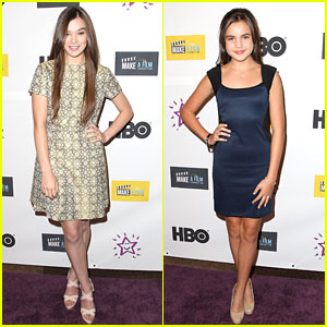 Hailee Steinfeld & Bailee Madison: 'The Magic Bracelet' Premiere Pals