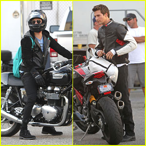 Big Time Rush On Motorcycles!