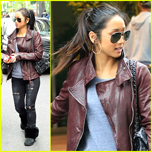 Brenda Song: Hotel Exit After Fox Upfronts