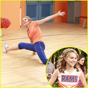 Bridgit Mendler is a Cheerleader!