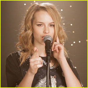 Bridgit Mendler Covers 'Starry Eyed' - Watch Now!