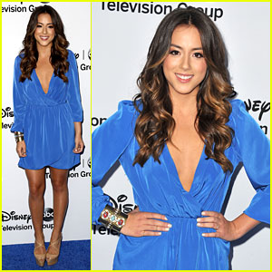 Chloe Bennet: 'S.H.I.E.L.D.' at Disney Upfronts 2013!