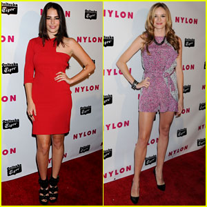 Chloe Bridges & Danielle Panabaker: Nylon Young Hollywood Party 2013