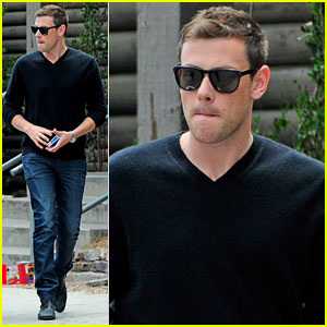 Cory Monteith: Post-Birthday Outing