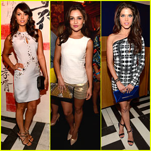 Nina Dobrev & Danielle Campbell: CW Upfront After Party Pics!