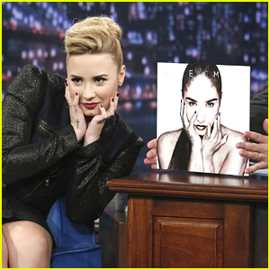 Demi Lovato on 'Late Night with Jimmy Fallon' -- Watch Now!