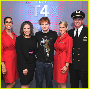 Ed Sheeran: JFK Terminal 4 Re-Opening Party
