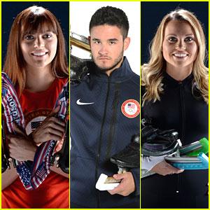 Eddy Alvarez, Heather Richardson & Jessica Smith: USOC Speed Skating Portraits!