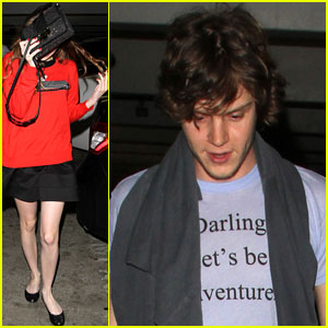 Emma Roberts & Evan Peters: Mid-Week Movie Date