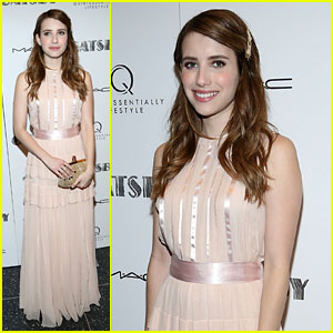 Emma Roberts: 'The Great Gatsby' Screening!