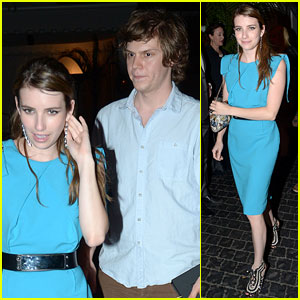 Emma Roberts: It Was Fun Doing a Movie with Boyfriend Evan Peters!