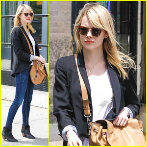 Emma Stone Runs Errands in NYC