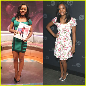 Gabby Douglas: AOL Digital Newfronts