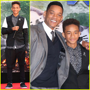 Jaden Smith: 'After Earth' Japan Premiere With Dad Will