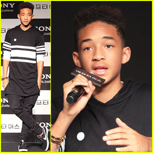 Jaden Smith: 'After Earth' Press Conference with Dad Will