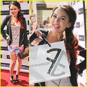 Janel Parrish Foreign Exchange Ping Event