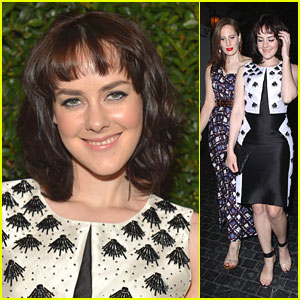 Jena Malone: Vogue & Mac Cosmetics Dinner