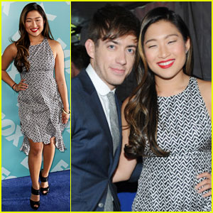 Jenna Ushkowitz &#038; Kevin McHale: Fox Upfronts 2013