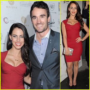 Jessica Lowndes & Thom Evans: Aston Martin VIP Launch