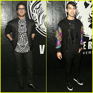 Darren Criss & Joe Jonas: Versus Versace Guys