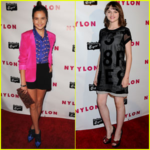 Joey King & Bailee Madison: Nylon Young Hollywood Party 2013