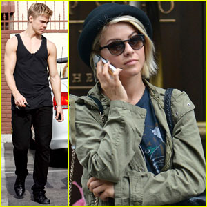 Julianne & Derek Hough: Separate Coast Siblings