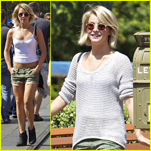 Julianne Hough: Disneyland Day Trip!
