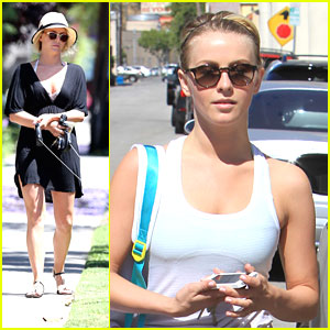 Julianne Hough: Walk With Harley & Lexi