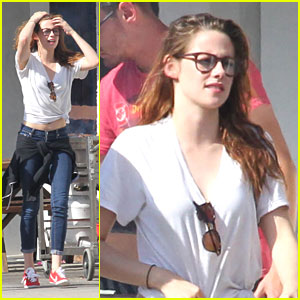 Kristen Stewart: Los Angeles Lunch