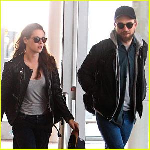 Kristen Stewart & Rob Pattinson: JFK Airport Arrival