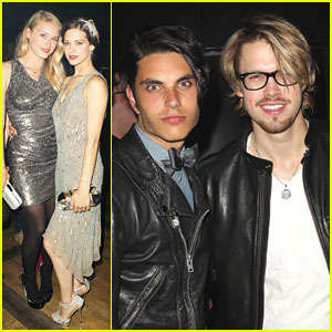 Chord Overstreet & Leven Rambin: 'Gatsby' Party Goers